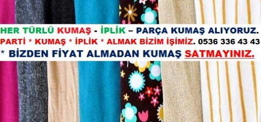 Parti Örme Kumaş.
