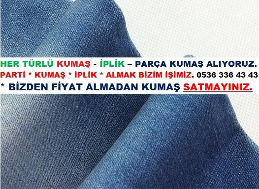 Parti Denim Kumaş
