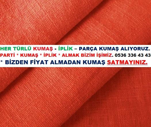 Parti Kumaş Alan Kişiler.