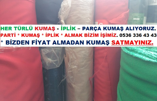 Parti Krep Kumaş.